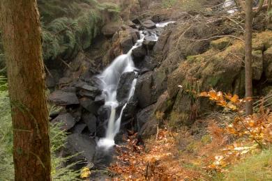 Cascate di Harrop Tarn